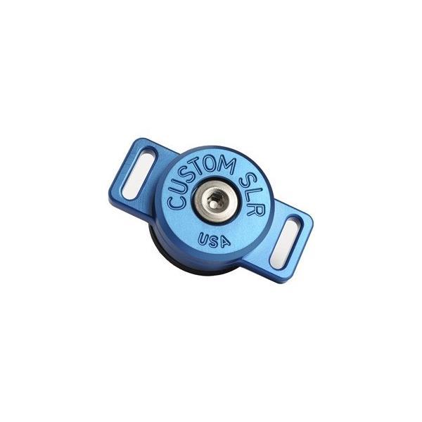 CustomSLR C-Loop HD 回転ストラップマウント(三脚穴取付)六角レンチ付 16026 ブルーの画像