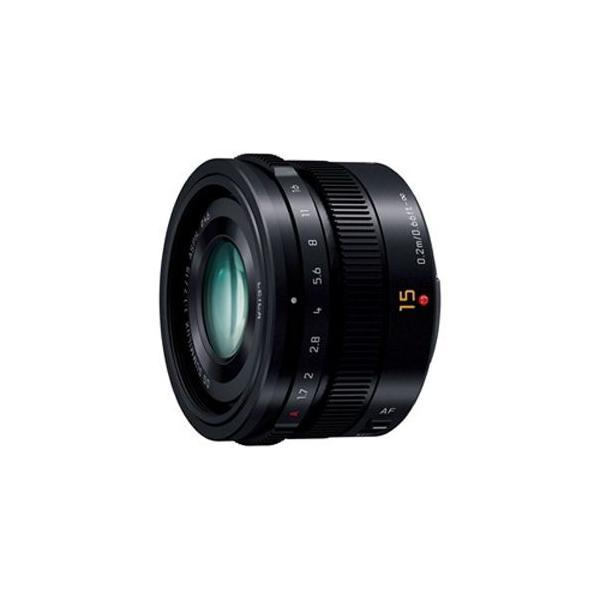 パナソニック Panasonic LEICA DG SUMMILUX 15mm/F1.7 ASPH. H‐X015‐K(ブラック)