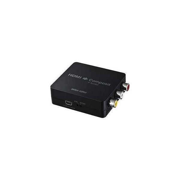サンワサプライ 変換コンバーター 「HDMIメス ⇒ コンポジット出力(RCAジャック)」 VGA‐CVHD3