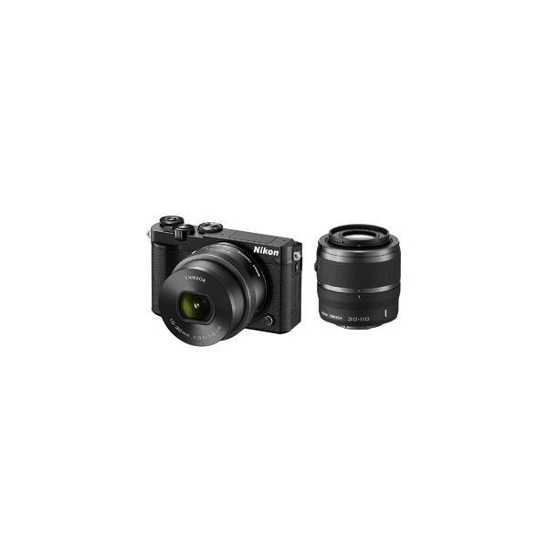 ニコン ミラーレス一眼カメラ Nikon 1 J5 ダブルズームレンズキット J5WZBK(ブラック)