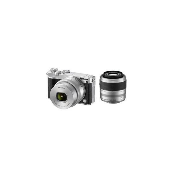 ニコン ミラーレス一眼カメラ Nikon 1 J5 ダブルズームレンズキット J5WZSL(シルバー)