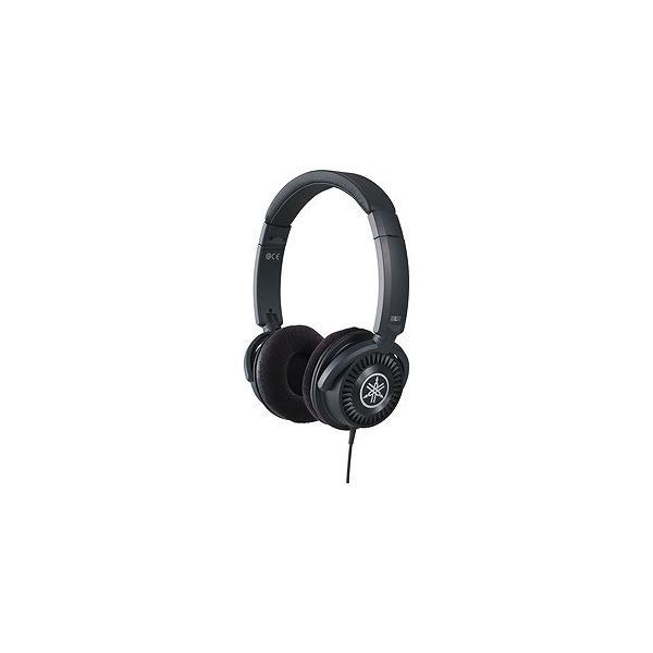 ヤマハ ポータブルヘッドホン高音質タイプ HPH-150B ブラックの画像
