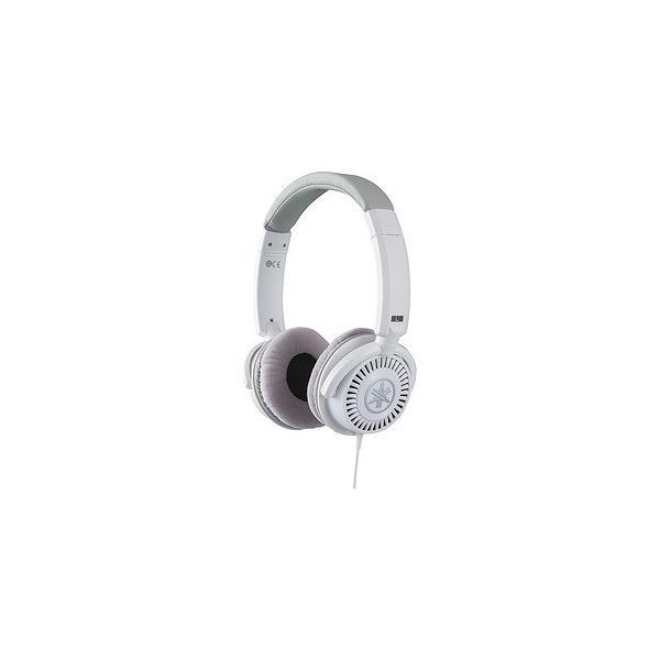 ヤマハ ポータブルヘッドホン高音質タイプ HPH-150WH ホワイトの画像
