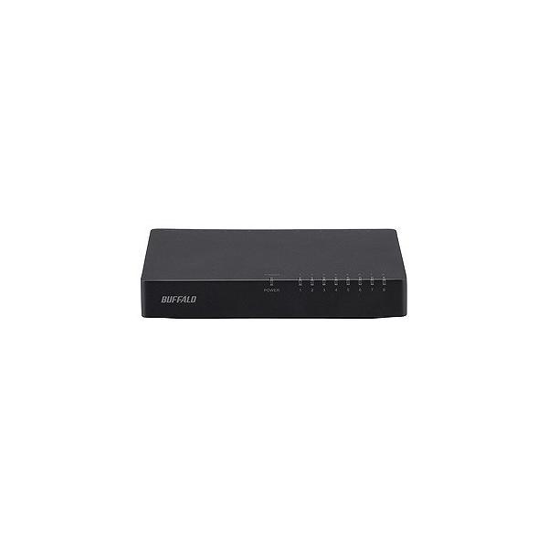 バッファロー スイッチングハブ「8ポート・100/10Mbps・ACアダプタ」ブラック LSW4‐TX‐8EP/BKD