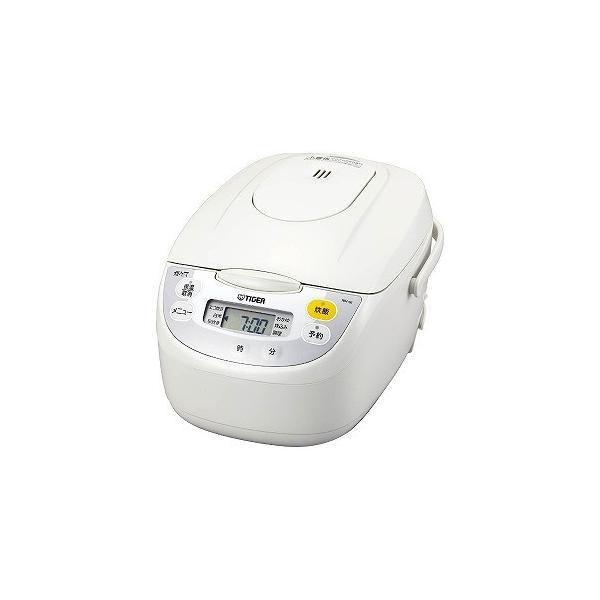タイガー魔法瓶 マイコン炊飯ジャー JBH-G101 W ホワイト 炊飯容量:5.5合の画像