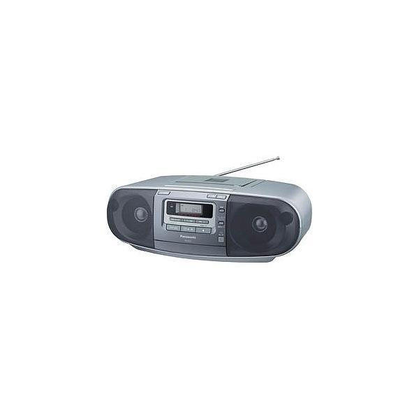 PANASONIC(パナソニック) CDラジカセ(ラジオ+CD+カセットテープ) RX-D47-Sの画像