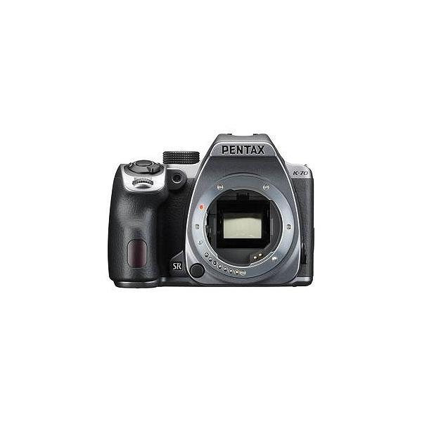 リコー PENTAX K−70【ボディ(レンズ別売)】(シルキーシルバー)/デジタル一眼レフカメラ K70ボディSL(シルキ