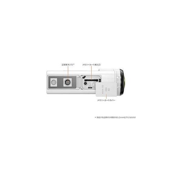 ソニー 4Kアクションカム(ライブビューリモコンキット) FDR−X3000R