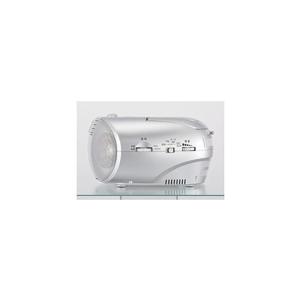 オーム電機 CDラジオカセットレコーダー RCD−550Z−S (シルバー)