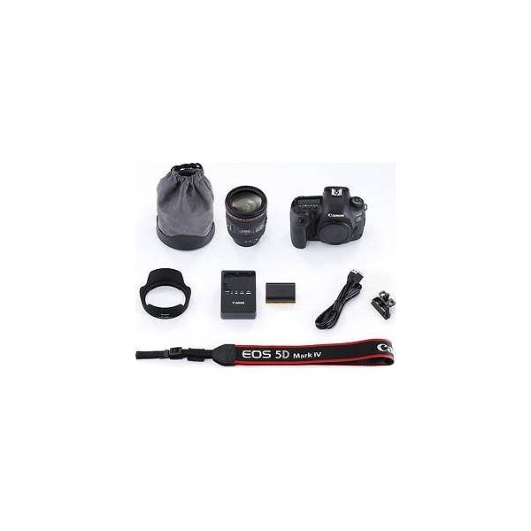 Canon EOS 5D Mark IV(WG)【EF24−70 F4L IS USM レンズキット】 EOS5DM42470ISLK