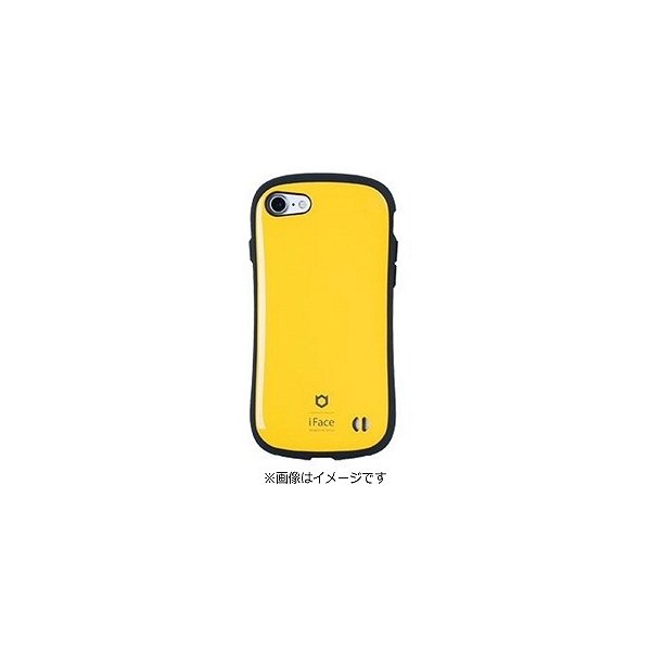 Hamee iFace First Class ケース イエロー 〔iPhone 7用〕の画像