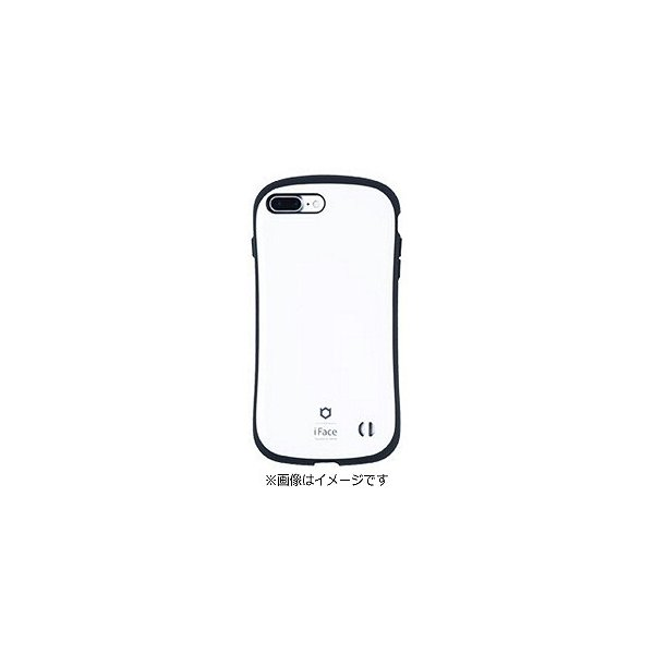 Hamee iFace Firstケース ホワイト〔iPhone 7 Plus用〕の画像