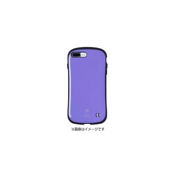 Hamee iFace Firstケース パープル〔iPhone 7 Plus用〕の画像