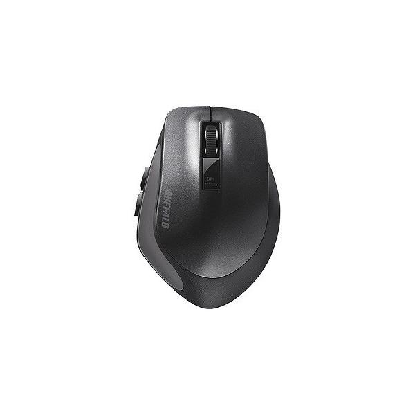 バッファロー Bluetoothマウス BSMBB500MBK ブラックの画像