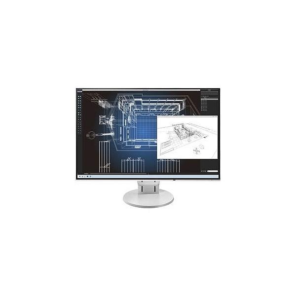 EIZO 24.1型LEDバックライト搭載液晶モニター (ホワイト) FlexScan EV2456-RWTの画像