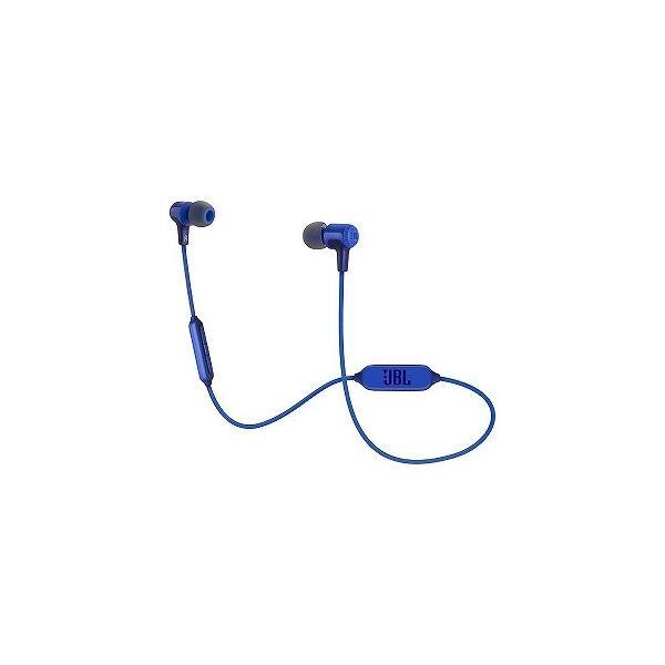 JBL Bluetoothヘッドホン JBLE25BTBLU ブルーの画像