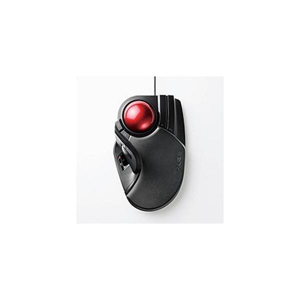 エレコム トラックボールマウス/大玉/有線 M-HT1URBK ブラックの画像