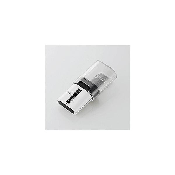 エレコム キャップクリップマウス静音Bluetooth M-CC2BRSWH ホワイトの画像