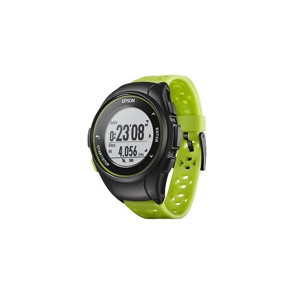 EPSON GPSランニングウオッチ 「WristableGPS」 Q−10G グリーン