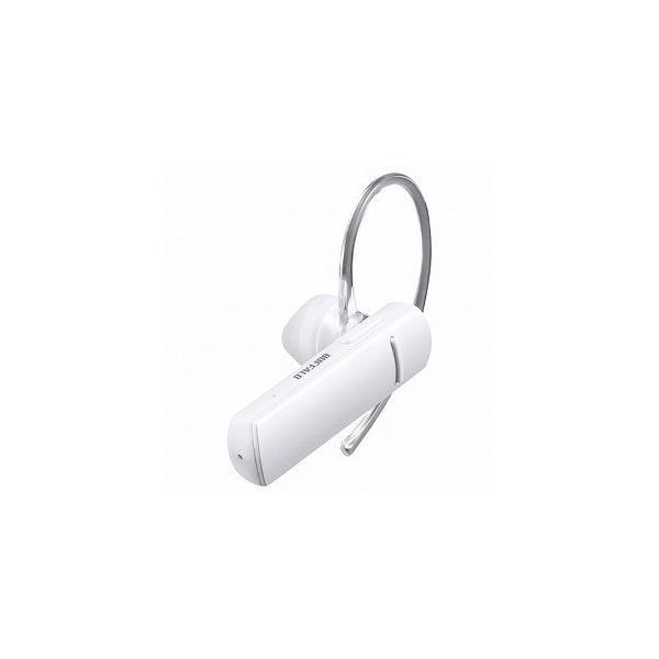 バッファロー Bluetooth4.0対応 片耳ヘッドセット BSHSBE200WH ホワイトの画像