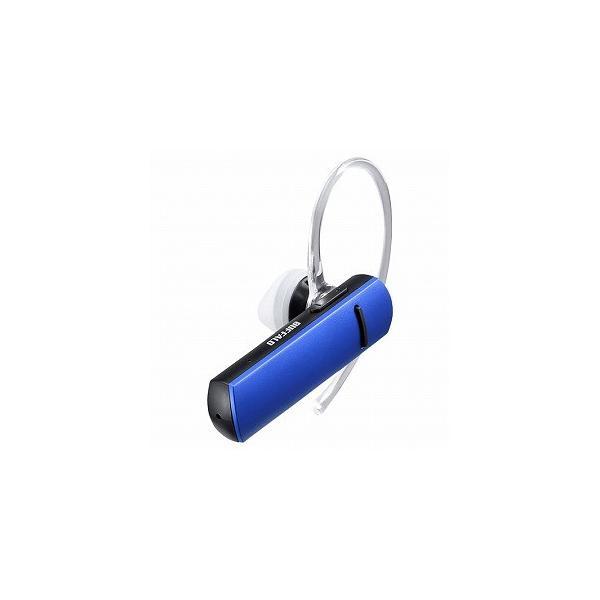 バッファロー Bluetooth4.0対応 片耳ヘッドセット BSHSBE200BL ブルーの画像