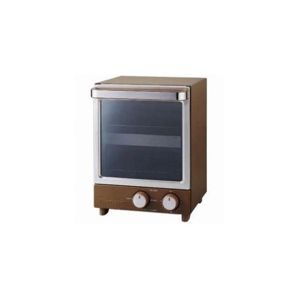 ビタントニオ オーブントースター [1000W/食パン2枚] VOT−20−B(ブラウン)
