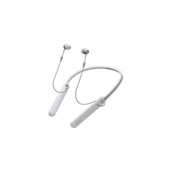 ソニー Bluetooth対応 カナル型イヤホン WI−C400 WZ