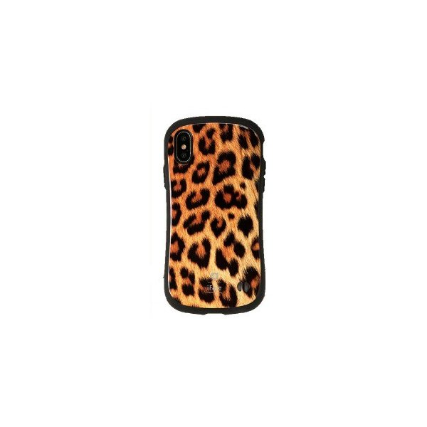 Hamee iFace First Class Africaケース ヒョウ 〔iPhone XS/X用〕の画像