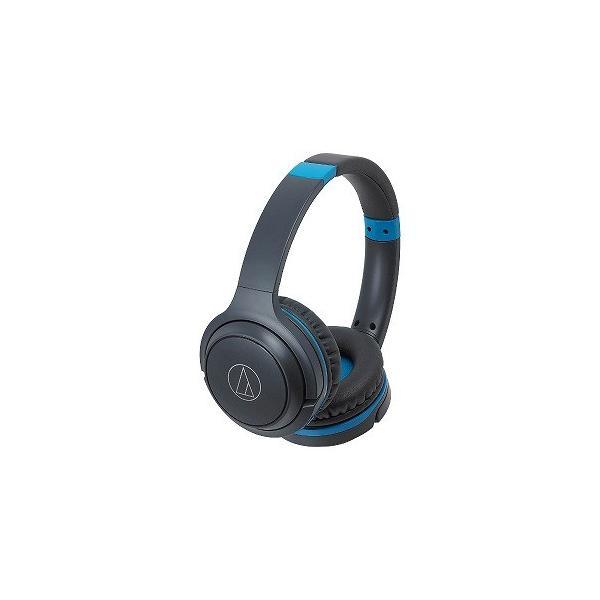 オーディオテクニカ Bluetoothヘッドホン ATH-S200BT GBL グレーブルーの画像