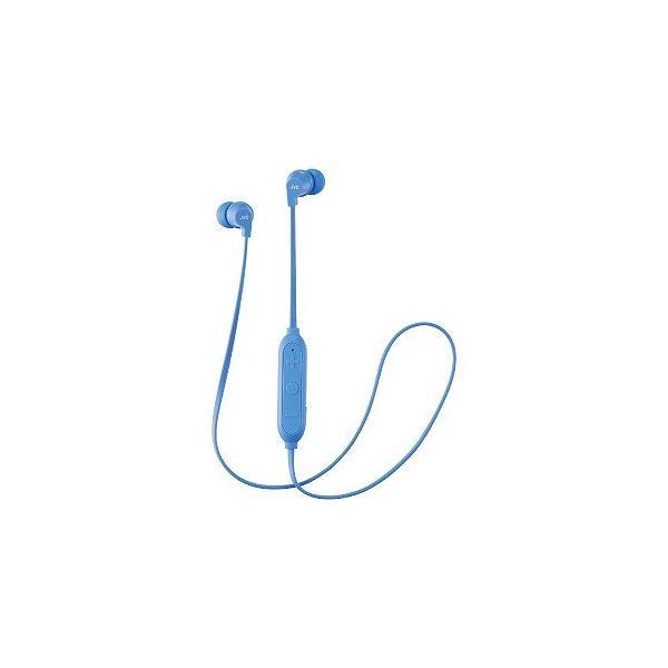 JVC Bluetoothヘッドホン HA-FX27BT-A ブルーの画像