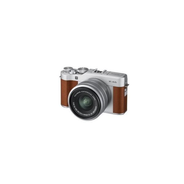 富士フイルム ミラーレス一眼カメラ (レンズキット) X−A5 ブラウン