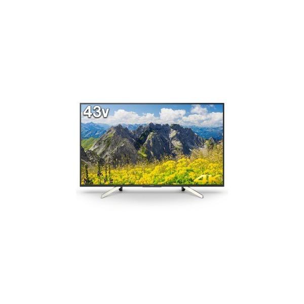 ソニー 43V型 4K対応液晶テレビ BRAVIA(ブラビア)(android tv)(4Kチューナー別売) KJ-43X7500Fの画像