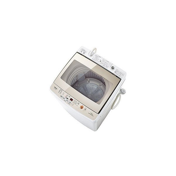アクア 全自動洗濯機 AQW-GV70G(W) ホワイト 洗濯容量:7.0kgの画像