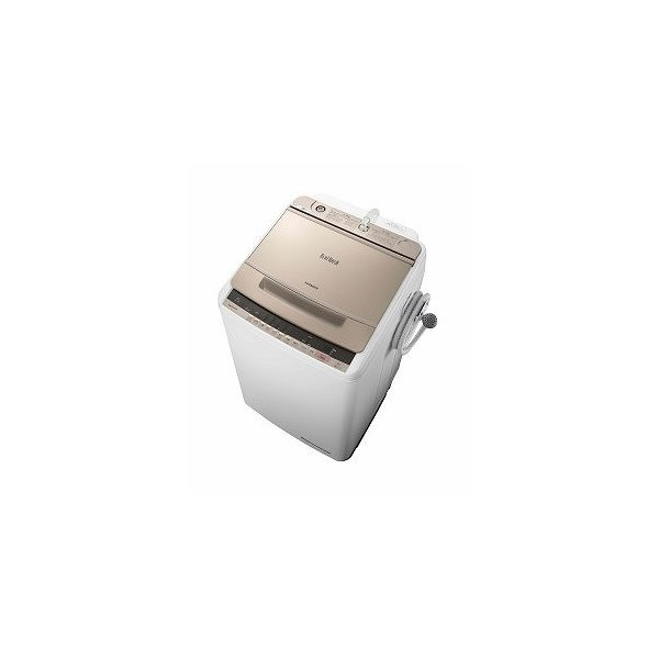 日立 全自動洗濯機 BW-V80C N シャンパン 洗濯容量:8kgの画像