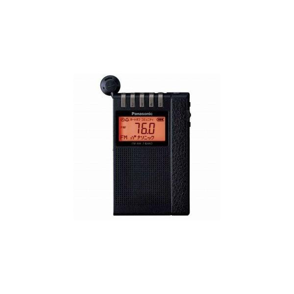 パナソニック ポータブルラジオ RF−ND380R ブラック