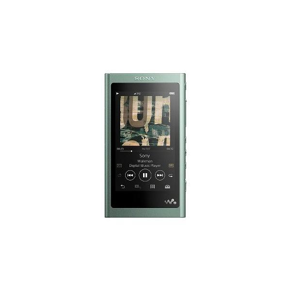 ソニー ポータブルオーディオプレイヤー Walkman ウォークマン イヤホン付属モデル NW-A55HN-G [16GB]の画像