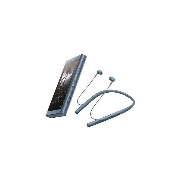 ソニー メモリープレーヤー NW-A55WI L ムーンリットブルー 容量:16GBの画像