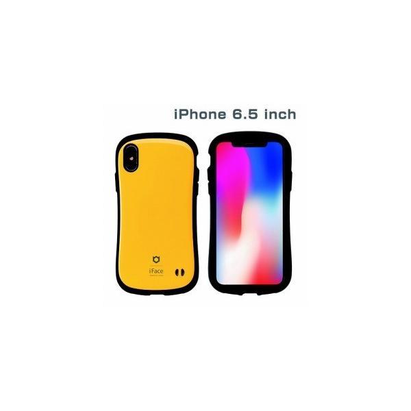 Hamee 41-897096 iFace Standardケース イエロー〔iPhone XS Max用〕の画像