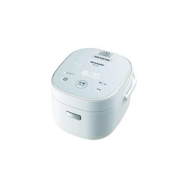 シャープ ジャー炊飯器 KS-CF05A-W ホワイト系 炊飯容量:3合の画像