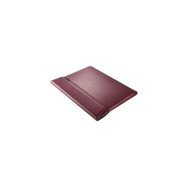 トリニティ MacBookAir Retina/Pro13インチ用ケース TR-MB1813-BS-NWR ワインレッドの画像