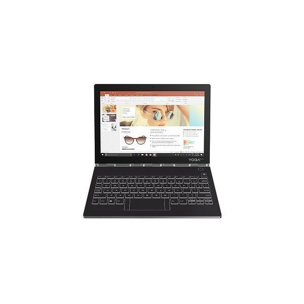 LENOVO ZA3S0143JP ノートパソコン Yoga Book C930 アイアングレー [10.8型 /intel Core m3 /SSD:128GB /メモリ:4GB /2019年モデル]の画像
