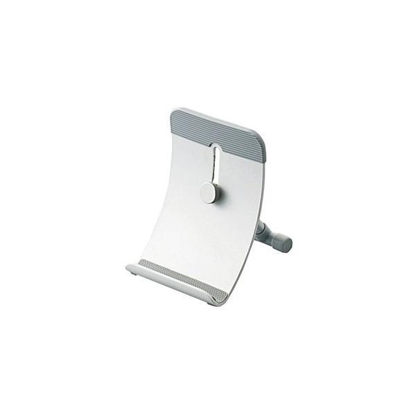 エレコム タブレット・電子ノート用スタンド TB-DS004SV シルバーの画像