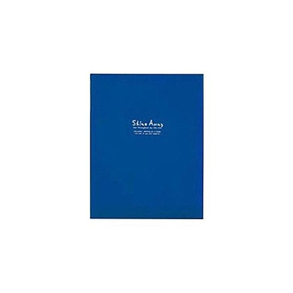キング A4 フリーアルバム F10 BK ブルーの画像