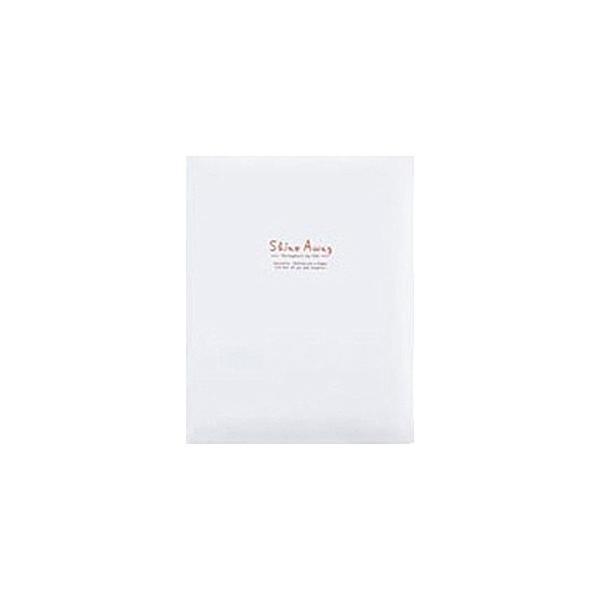 キング A4 フリーアルバム F10 BK ホワイトの画像