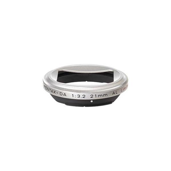 ペンタックス レンズフード MH-RBB43 シルバーの画像