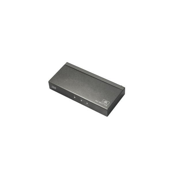 ラトック 4K60Hz対応 1入力2出力 HDMI分配器 RS−HDSP2P−4K