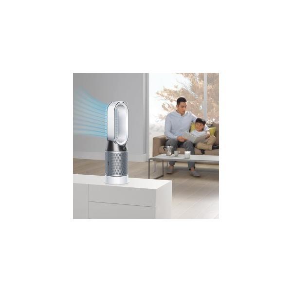 ダイソン 空気清浄ファンヒーター Dyson Pure Hot+ Cool HP04BNN ブラックニッケル [首振り機能]