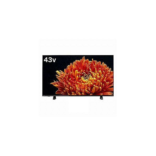 東芝 TOSHIBA 43V型4K対応液晶テレビ[4Kチューナー内蔵/YouTube対応]REGZAレグザ 43C340X(標準設置無料)