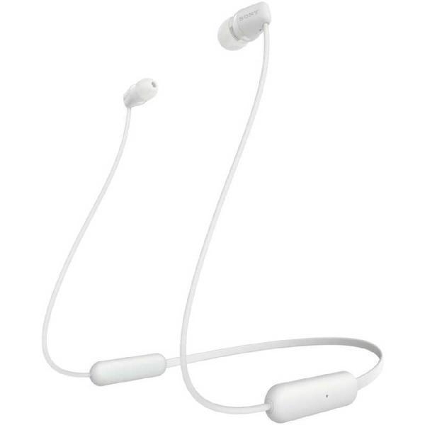 ソニーSONYブルートゥースイヤホン[マイク対応]WI-C200ホワイト