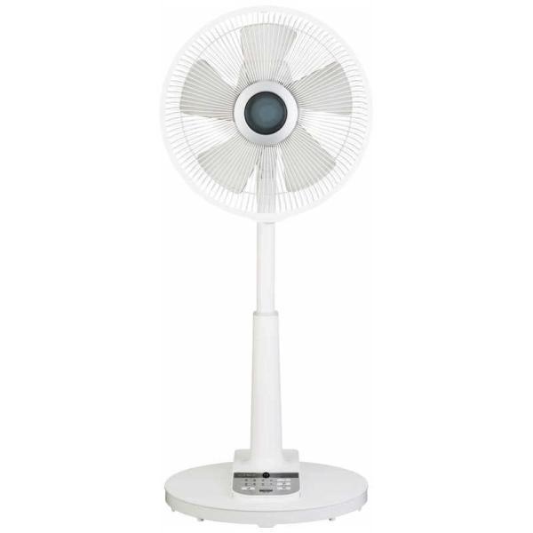 |シィーネット リビング扇風機 [リモコン付き] CORF15 ホワイト